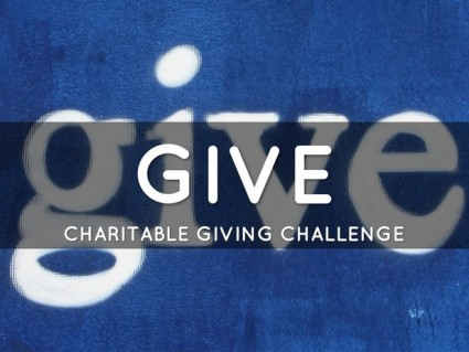 give charitable giving challenge