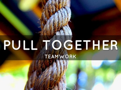 Achieve Shared Goals When Teamwork Pulls Together