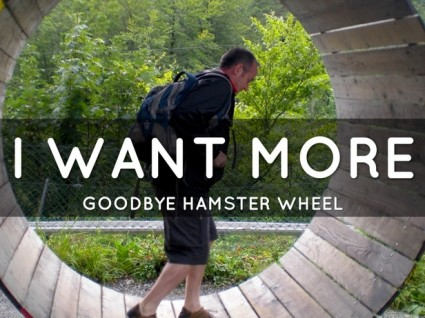Create a more fulfilling life off of the hamster wheel