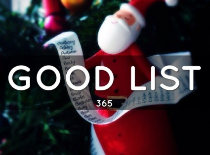 Get on Santa's Good List With Ease: Be Good