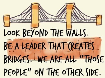 build bridges not walls activity