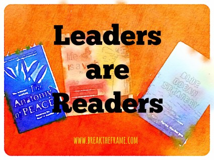 Leadership and learning go hand in hand starting with your first business book