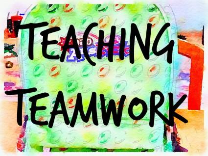 How can you teach teamwork?