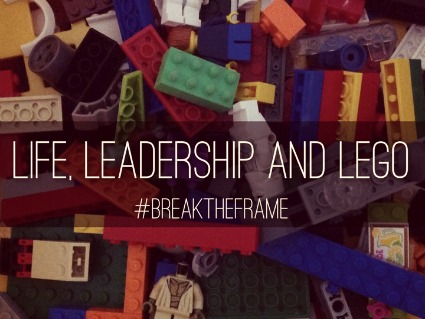 You can break the frame of your leadership and rebuild to create a new vision for the future