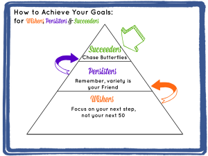 How to achieve your goals for wishers, persisters and succeeders