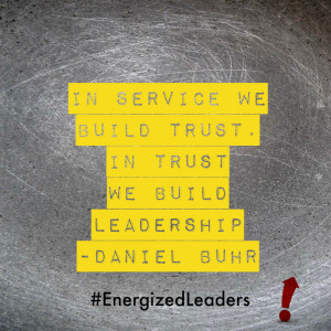 in service we build trust daniel buhr