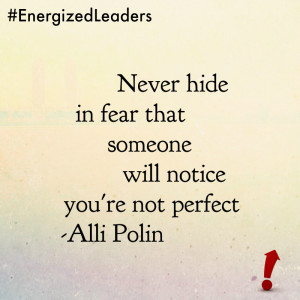never hide in fear alli polin