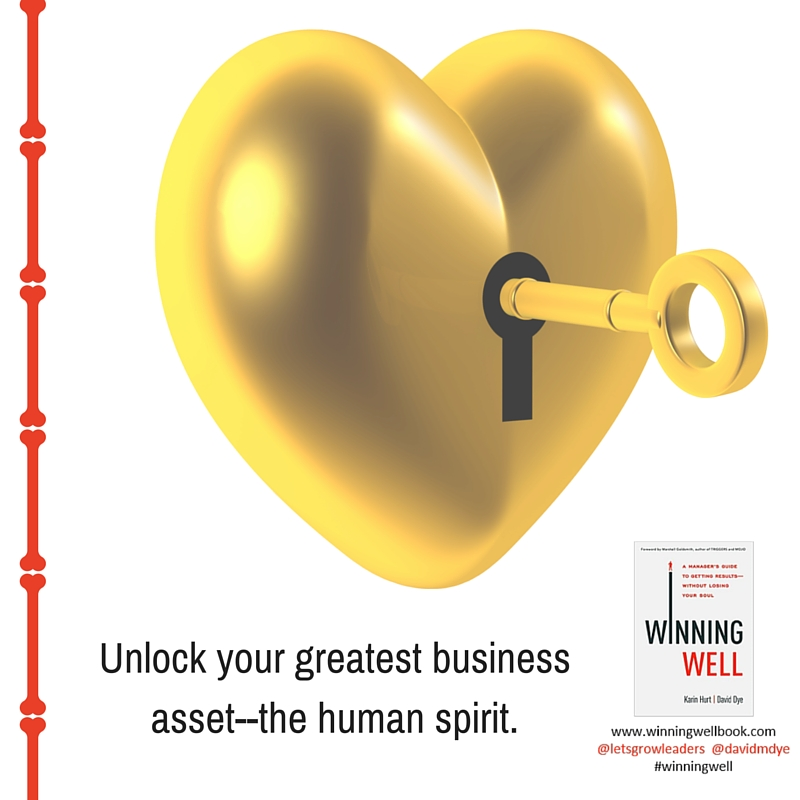 15-Unlock your greatest business asset--the human spirit.
