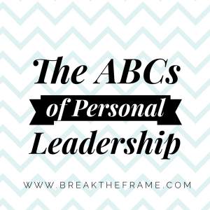 ABCs of Personal Leadership
