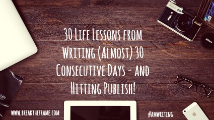 life lessons from writing